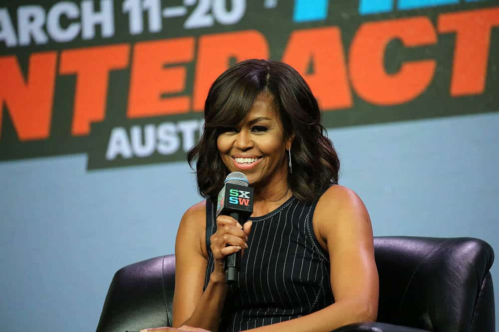 Michelle Obama speaking at SXSW Interactive 2016