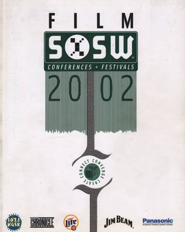 South By Southwest Film Festival Poster from 2002