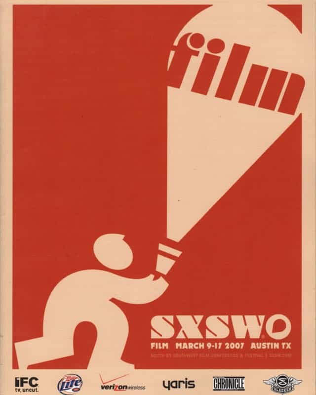 South By Southwest Film Festival Poster 2009