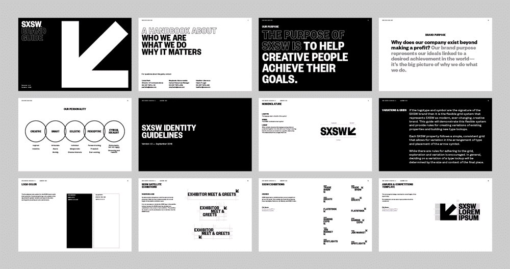 SXSW 2017 Brand Standards