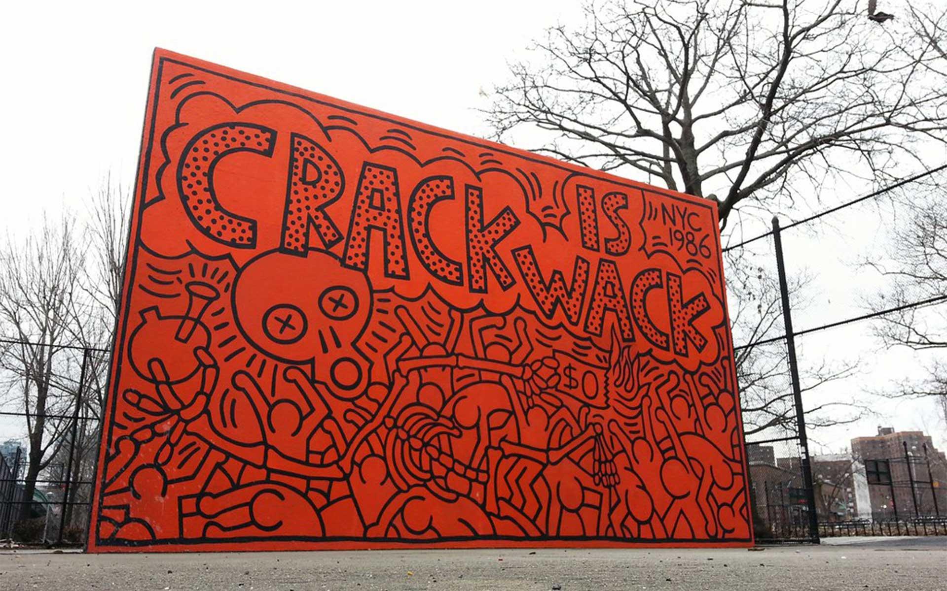Crack is Wack Playground Mural
